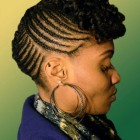 Natural braid hairstyles