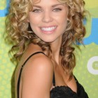 Natural long curly hairstyles
