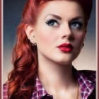Pin up wedding hair