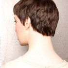 Pixie haircut from the back