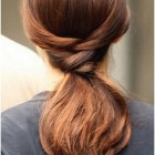 Ponytail hairstyles long hair