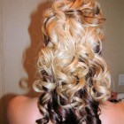 Prom hairstyles curly down