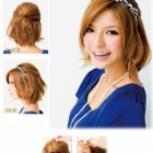Prom hairstyles for medium short hair