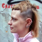 Punk haircut