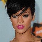 Rihannas short hairstyles