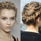 Romantic braided hairstyles