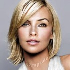 Semi short hairstyles