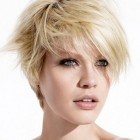 Short asymmetrical haircuts for women