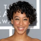 Short black curly hairstyles