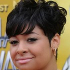 Short black haircuts for women 2014