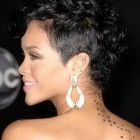 Short black mohawk hairstyles