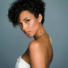 Short curly natural hair