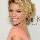 Short curly updo hairstyles
