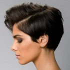 Short cut hairstyle