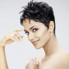 Short hair styles for black women over 40