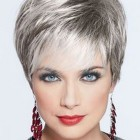 Short hair styles for gray hair