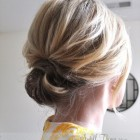 Short hair wedding updos
