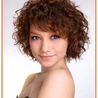 Short haircuts for curly