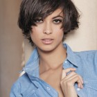 Short haircuts for thick straight hair