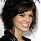 Short haircuts for wavy thick hair