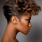 Short haircuts for women black