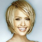 Short haircuts for women with long faces
