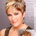 Short hairstyles for women 50 and over