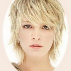 Short hairstyles layered
