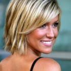 Short hairstyles with bangs