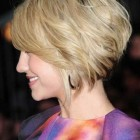 Short layered bobs with bangs