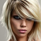 Short layered haircuts with side bangs