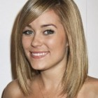 Short medium hairstyle