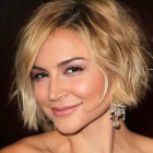 Short medium hairstyles women
