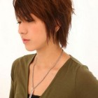 Short medium length hairstyles women