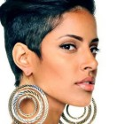 Short short black hairstyles