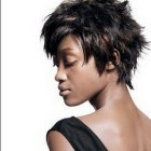 Short spikey hairstyles for black women