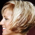 Short straight haircuts for women over 50