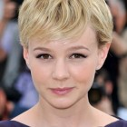 Short textured hairstyles