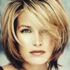 Short to medium length haircuts for women
