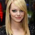 Side fringe haircuts for long hair