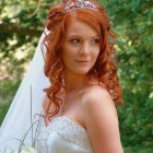 Simple bridal hair