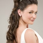 Simple wedding hairstyles for long hair