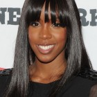 Straight hairstyles for black women