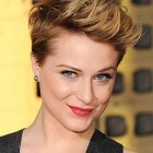 Styling short hair women