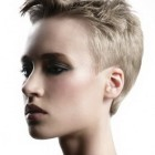 Super short hairstyles 2014
