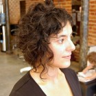 Trendy short curly hairstyles