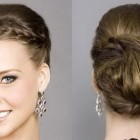 Updo braided hairstyles
