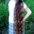 Very very long hair