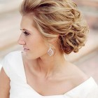 Wedding bride hairstyle