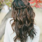 Wedding hair for long hair
